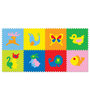 FashBlush Padded Eva Base Animals Puzzle Play Mat with 8 Pieces