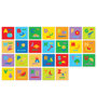 FashBlush Padded Eva Base Pictured Alphabets Puzzle Play Mat 26 Pieces
