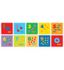 FashBlush Padded Eva Base Pictured Numeric Puzzle Play Mat with 10 Pieces