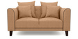 Ferris Two Seater sofa in Light Camel Colour by Furny