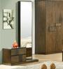 Felipa Dresser-Mirror Set in Antique Grey Finish by CasaCraft