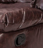 Felix Two Seater Recliner in Brown Colour by Durian