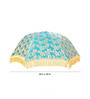 Festive Collection Blue Cloth Fancy Decorative Folding Umbrella