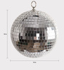 Festive Collection Multicolour Glass Decoration Mirror Balls
