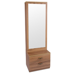 Finch Dresser with Mirror in Brown Colour by HomeTown