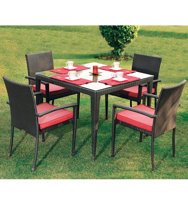 Compare fine living seater dining set table