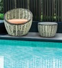 Fine Living Balcony Lounger Set (1T + 1C) by Loom Crafts