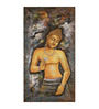 Fizdi Canvas 18 x 0.2 x 36 Inch Ajanta Art Unframed Art Painting