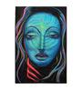 Fizdi Canvas 24 x 0.2 x 32 Inch Fluorescence Art 01 Unframed Art Painting