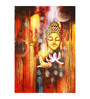 Fizdi Canvas 24 x 0.2 x 36 Inch Buddhism Art 7 Unframed Art Painting