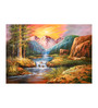 Fizdi Canvas 36 x 0.2 x 24 Inch Beauty of Nature 5 Unframed Art Painting