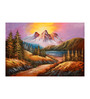 Fizdi Canvas 36 x 0.2 x 24 Inch Beauty of Nature 7 Unframed Art Painting