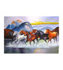 Fizdi Canvas 36 x 0.2 x 24 Inch The Rescue Unframed Art Painting