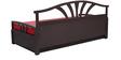 Flora Slider Sofa cum Bed in Red Colour by Auspicious Home