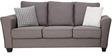 Florence Three Seater Sofa in Grey Colour by Furnitech