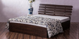 Flute Queen Bed with Lifton Storage by Durian