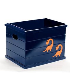 FLYFROG KIDS Dinosaur Blue Wood and MDF 3 Kg Storage Box