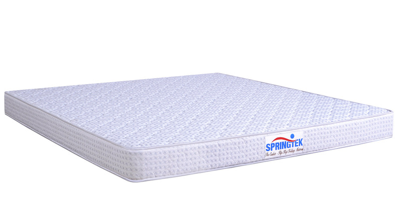 5 Inches Coir Folding Single Mattress in Grey Colour by Springtek Ortho Coir