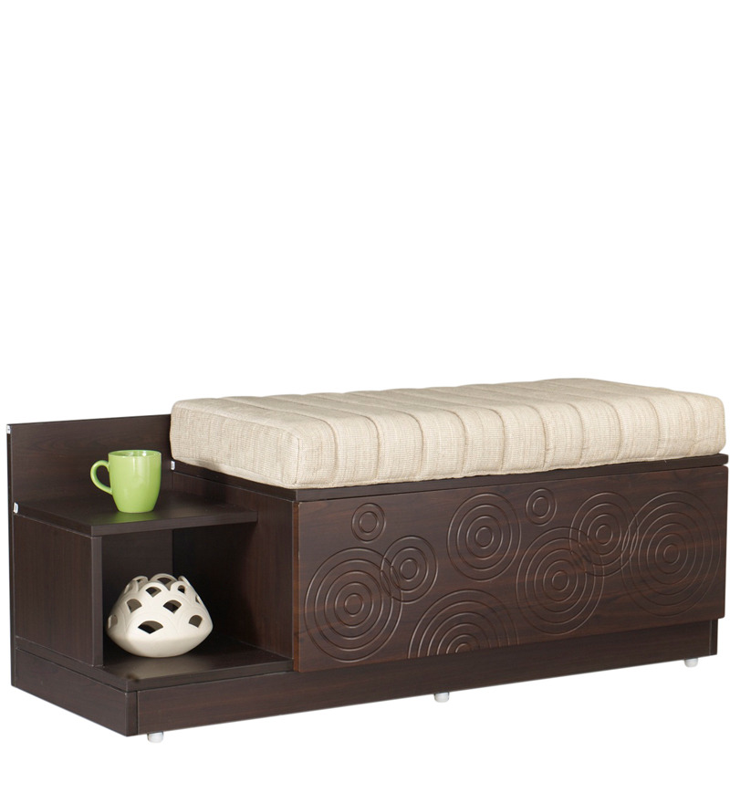 Flutter Seat Cum Storage Unit In Cinnamon Colour By Godrej Interio By Godrej Interio Online