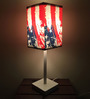 Flag Designed (21 x 6) Table Lamps in Multicolor by Nutcase