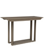 Flamboyant Convertible Console Table in Brown Colour by Gravity