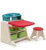 Flip & Doodle Easel Desk with Stool by Step 2