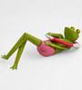 Floating Frog Figurine by The Yellow Door