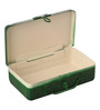 Fluke Design Company Green Aluminium Birds Decoupage 7.1 x 3.9 x 2 Inch Keepsake Box