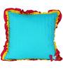 Flutter Aqua (16 x 16) Cushion Cover by L Orange