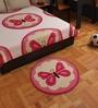 FLYFROG KIDS Pink Wool Mat - Set of 1