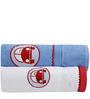 Flyfrog Kids Blue Cotton Kids Towel - Set of 2