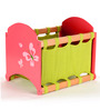 FLYFROG KIDS Butterfly Pink and Green Wood and MDF 1.5 Kg Storage Box