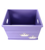 FLYFROG KIDS Tiara Violet Wood and MDF 3 Kg Storage Box