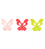 Flyfrog Kids Pink & Green Wood & MDF Butterfly Wall Hook