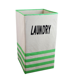 My Gift Booth Non-Woven 20 L Green Laundry Basket