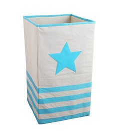 My Gift Booth Non-Woven 20 L Blue Laundry Basket