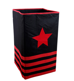 My Gift Booth Non-Woven 20 L Red Laundry Basket