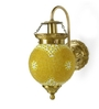 Fos Lighting Yellow Upward Chandni Gola Energy Saver Wall Sconce