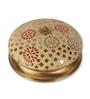 Fos Lighting Tilak Brass Antique Mosaic Flush Mounted Light