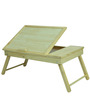 Foldable Bed Coffee Table in Natural Colour by ClasiCraft