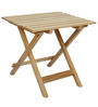 Foldable Table in Medium Size in Natural Colour by ClasiCraft