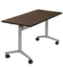 Foldable Table in Wenge Finish by Eurosteel