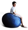 Football Bean Bag (Cover Only) XXL size in Denim Blue Colour  by Style Homez