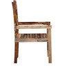 Dallas Arm Chair in Natural Sheesham Finish by Woodsworth