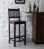 Amarillo Bar Chair in Passion Mahogany Finish by Woodsworth