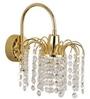 Fos Lighting  Gold Brass & Crystal Wall Light