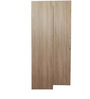 Four Door Wardrobe in Brown Colour by Penache Furnishings