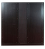 Four Door Wardrobe in Wenge Colour by Penache Furnishings