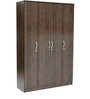 Takuma Four Door Wardrobe in Wenge Finish by Mintwud