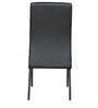 Four Seater Dining Set in Black Colour by Parin